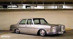 Jimmy's Bagged Mercedes Benz 280SE
