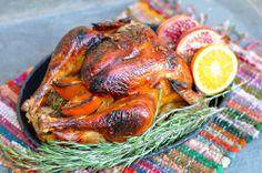 BLOG.ENTERTAININGBYTHEBAY.COM: Spiced Pomegranate Molasses Glazed Turkey # recipe Lenten Season, Pomegranate Molasses, Turkey Glaze, Turkey Recipes, Poultry, Main Dishes, Spices, Easter, Entertaining