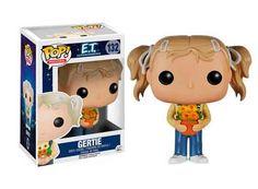 Cabezón Gertie, E.T. El Extraterrestre. Funko POP Movies Cabezón creado por Funko del personaje creado por Steven Spielberg, Gertie, la hermana de Elliot, para el film ET el Extraterrestre, de 1982.