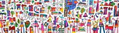 Figurative painting art - Bruce Earles - Leisure Tracks