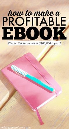 Learn how to create a profitable eBook and take your blog and income to the next level! This girl talks all about how she does it-- click through to read!