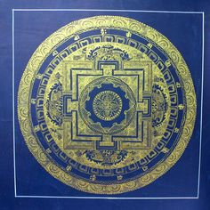 Dharmashop.com - Painted in Gold Medicine Buddha Mandala , $89.00 (http://www.dharmashop.com/painted-in-gold-medicine-buddha-mandala/)