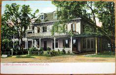 1908 Pensacola Fl Postcard Escambia Hotel Florida
