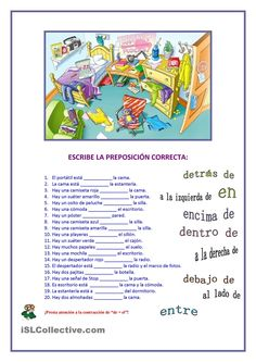 Prepositions in Spanish Ap Spanish, Spanish Grammar, Spanish Vocabulary, Spanish Language Learning, Spanish Teacher, Spanish Classroom, Learn Spanish, Spanish Worksheets, Spanish Teaching Resources