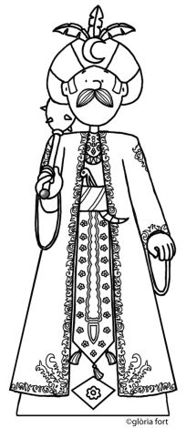 Gegant de Vilanova, Festa Major_Vilanova i la Geltrú   glòria fort _ illustration