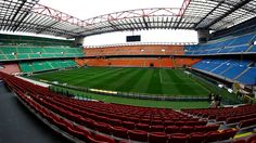 """See 6351 photos and 426 tips from 24701 visitors to Stadio San Siro """"Giuseppe Meazza"""". A historical piece of Italian football. Soccer Stadium, Football Soccer, Milan, Basketball Court, Europe, Soccer"""