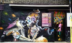 Shoreditch street art #shoreditch #shoreditchstreetart #london #streetart #urban #art #street #lovelondon #urban #urbanart #exploreyourownbackyard #england by manckiwi from Shoreditch feed from Instagram hashtag #shoreditch  www.justhype.co.uk Hype Store - Boxpark Shoreditch.