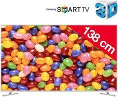 Smart TV Full HD 3D + nr.2 Occhialini 3D Attivi Samsung 55 Pollici Processore QuadCore Sconto del 45%