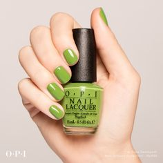 #ImSoooSwamped is a shade to watch this year. It captures the lush foliage of the Bayou as well as fresh spring runway color trends! Get your tips on this one and be ahead of the trends! #OPINewOrleans