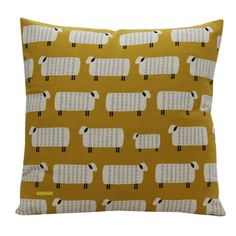 We love this mustard cushion cover - a great one for Kiwi's everywhere! Looks great partnered with any of the Wave designs.