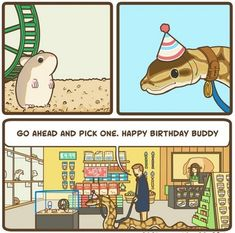 """30 Side-Splitting Gems From Good Bear Comics - Funny memes that """"GET IT"""" and want you to too. Get the latest funniest memes and keep up what is going on in the meme-o-sphere. Cute Funny Animals, Cute Baby Animals, Funny Cute, Cute Comics, Funny Comics, Happy Birthday Buddy, 4 Panel Life, Dark Sense Of Humor, Cute Reptiles"""