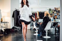 Behind The Scenes At Rachel Zoe's Fall 2016 Collection
