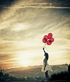 Do you ever just dream of delivering a dozen huge red balloons to your best friend as a thank you for making your life exactly as happy as a dozen huge red balloons? Me, too.