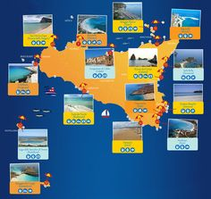 Best beaches in #Sicily: Top 50 beautiful Sicilian Beaches #sea #beach