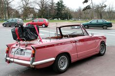 Pink Triumph Herald Vitesse