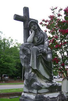 Cross CreeK Cemetery in Fayetteville NC:  Robertson, William and Sallie (1912 & 1911) by