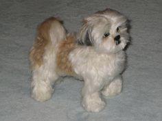 NEEDLE FELTING~TUTORIAL~ADDING LONG FUR TO NEEDLE FELTED DOGS~YOUR NEEDLE FELTING QUESTIONS ANSWERED « Gourmetfelted's Weblog