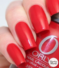 Orly - Monroes Red