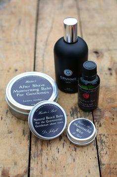 Men's grooming products, available at Greenshoots Edinburgh https://greenshootsedinburgh.com/