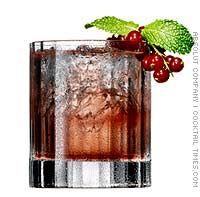 Wonderland Cocktail - Christmas Holidays - lemon and lime juices, Grenadine, club soda, Absolut Vodka.
