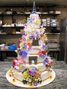 cake boss cakes | external image cake-boss-411-flower-show-cake.jpg         Floral castle!