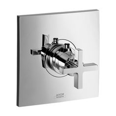 Axor Citterio Thermostatic Trim with Cross Handle