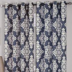 jcp | Medina Ikat Grommet-Top Curtain Panel