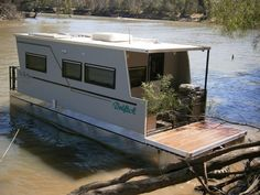 Trailerable Houseboats | Trailerable Pontoon Houseboats For Sale | Trailerable ... | Houseboat