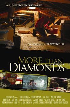 More Than Diamonds 2010 Internet Movies, Top Movies, Discovery, Diamonds, Adventure, Movie Posters, Film Poster, Adventure Movies, Diamond