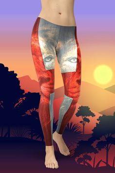 Dare to be you! The new English Lion Leggings are squat-proof, non see-through and super comfortable to wear. Handmade quality you can feel! Gym Leggings, Tight Leggings, Sport Outfits, Squats, Activewear, Hug, Looks Great, Tights, Just For You