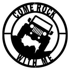 243 best jeep cj7 stuff images jeep truck jeeps jeep jeep 1973 Jeep CJ5 Roll Cage e rock jeep cut out wall art silhouette metal sign 14x14 wrangler accessories