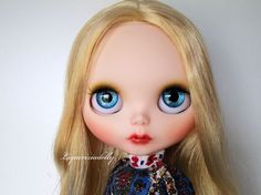 Blythe ooak custom art doll Marlene   by by liquiriziadolly