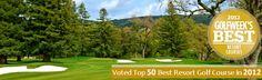 Napa Valley Golf Resorts - Silverado Resort - California Wine Country Golf Courses.