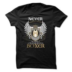 A WOMAN WITH A BOXER T-Shirts, Hoodies, Sweaters