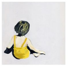 Girl in the yellow suit   giclee print on 100% cotton rag archival paper  paper weight is 330 gsm  print measures 10 inches x 10 inches (includes 3/4 inch border)  signed, titled, and numbered on front  edition 100  Lisa Golightly