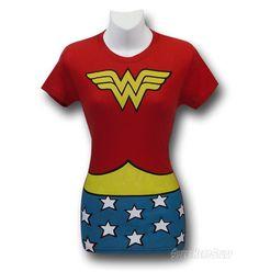 Wonder Woman Symbol Costume T-Shirt