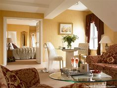 Honeymoon suite at the Breaffy House Hotel. Honeymoon Suite, Staging, Mirror, Room, House, Furniture, Home Decor, Board, Ideas
