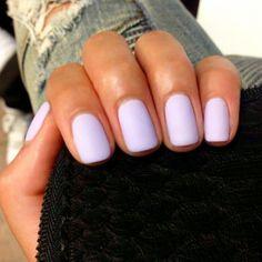 Nails design spring matte colour 33 ideas for 2019 - Nails - mild fetish - Nageldesign Cute Acrylic Nails, Cute Nails, Matte Gel Nails, Cute Spring Nails, Summer Nails, Perfect Nails, Gorgeous Nails, Jolie Nail Art, Lavender Nails