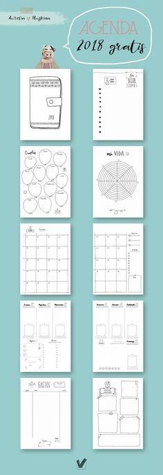 agenda 2018 pdf imprimible gratis