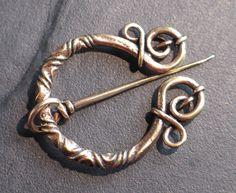 brooch fibula BRONZE Viking Medieval Celtic Germanic replica Urnes style   eBay