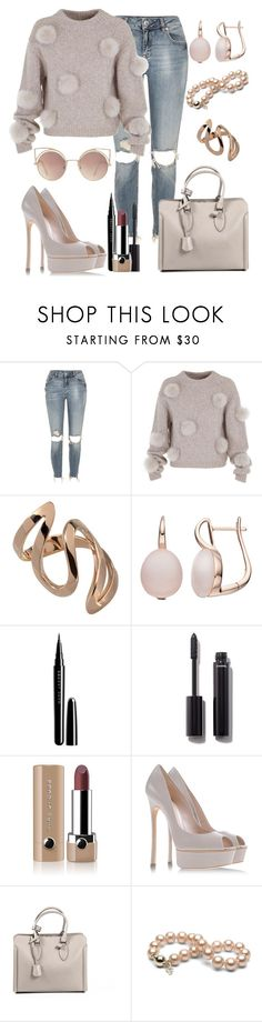 """Untitled #460"" by fasttrack2fashion ❤ liked on Polyvore featuring River Island, TIBI, Marc, Chanel, Marc Jacobs, Casadei, Alexander McQueen and MANGO"