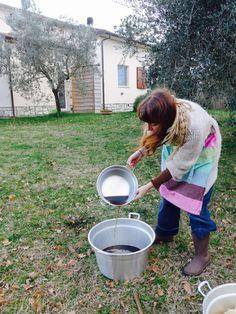 hand-dye by Sara Pierazzuoli pom-pom.me