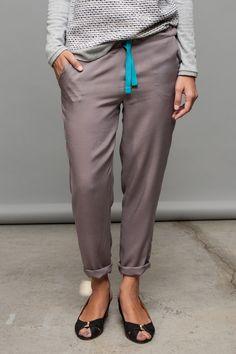 Lässige Sommerhose // summer trousers by meandmay via DaWanda.com