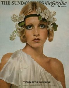 Twiggy in 'The Boy Friend'. The Sunday Times magazine, January 2 1972