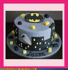 Not only is it a Batman cake. It's a LEGO Batman Cake!!!