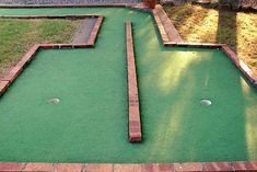 Great for part of a backyard mini golf course.