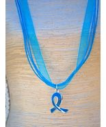 Bonanza.com  Ovarian Cancer Necklace  **LOVE**