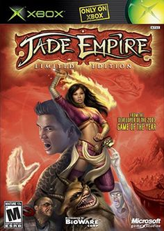 Jade Empire- a great game with a wonderful thought out story, with great combat and memorable characters. the story just sucks you in and make you want to finish it.