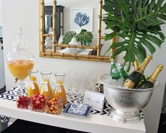 Mimosa bar ideas