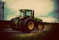 Soon enough my days will be filled with driving tractors like this. Then taking them apart and putting them back together in the winter :D